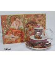 Tea for One Alfons Mucha
