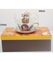 Tea for One Alfons Mucha Stones